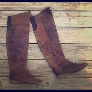 Free People + Faryl Robin over the knee boots 9.5